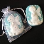 MANJA SKIN – Angel Christmas Soap (Blue)